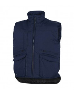 FIPCENTER-Gilet de travail multipoches polyester coton-SIERRA2