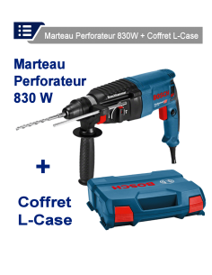FIPCENTER-Marteau-perforateur SDS-plus GBH 2-26 + coffret L-CASE-06112A3000