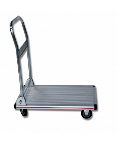 FIPCENTER-Chariot manutention Aluminium timon rabattable 150 Kg-NP150