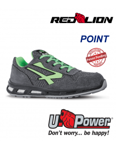 FIPCENTER-Chaussure sécurité UPOWER look basket REDLION POINT S1P SRC-RL20036