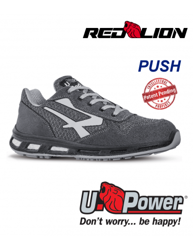 FIPCENTER-Chaussure de sécurité UPOWER look basket REDLION PUSH S1P SRC-RL20056