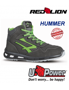 FIPCENTER-Chaussure de securité montante look basket REDLION HUMMER S3 SRC-RL10174