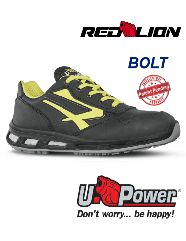 FIPCENTER-Chaussures de sécurité UPOWER look basket REDLION BOLT S3 SRC-RL20043