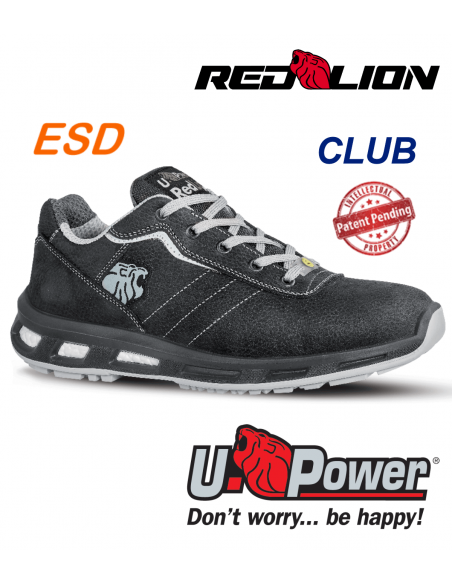 FIPCENTER-Chaussure de sécurité UPOWER look basket REDLION CLUB S3 SRC ESD-RL20114