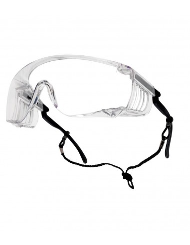 FIPCENTER-Surlunette de protection incolore SQUALE Bollé Safety-SQUPSI