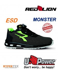 FIPCENTER-Chaussure de sécurité look basket RED LION MONSTER S3 SRC ESD-RL20366