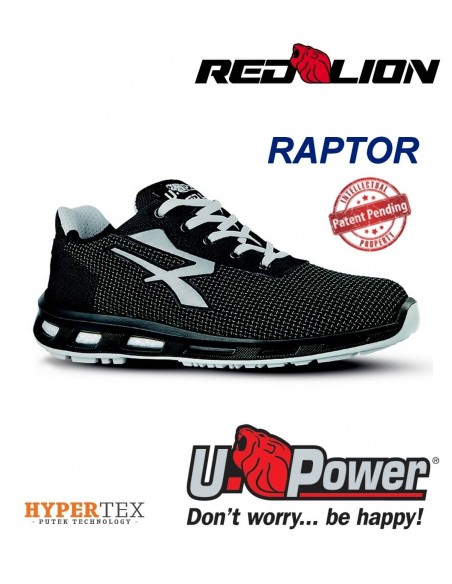 FIPCENTER-Chaussure de sécurité look basket basse UPOWER REDLION RAPTOR S3 SRC-RL20376