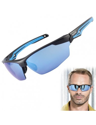6dbdd74f582da FIPCENTER-Lunettes de protection TRYON Bollé Safety verre flashé  bleu-TRYOFLASH