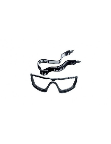 FIPCENTER-Lunette masques renfort mousse COBRA Bollé Safety verre incolore-COBFSPSI