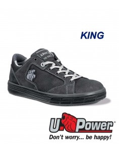 FIPCENTER-Chaussure de sécurité basse look basket THE ROAR KING S3 SRC-SN20014