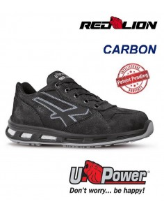 FIPCENTER-Chaussures de sécurité UPOWER look basket REDLION CARBON S3 SRC-RL20013