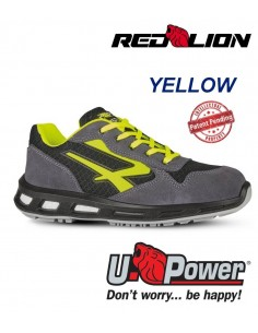 FIPCENTER-Chaussure de sécurité UPOWER look basket Redlion YELLOW S1P SRC-RL20386