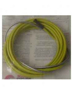 FIPCENTER-Gaine guide fil acier jaune 25 x 45 - 4m typ air-GR404201 GM0541