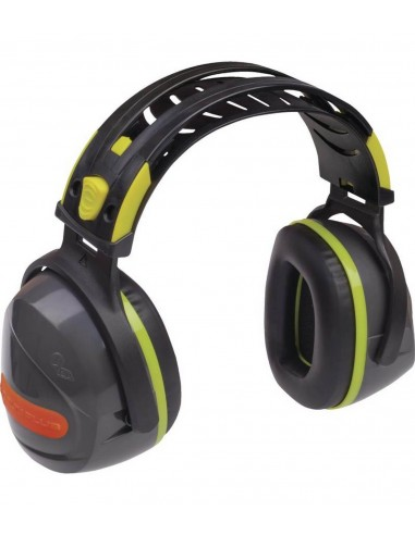 FIPCENTER-Casque anti-bruit 33 dB réglable- coquille ABS avec mousse - DELTA PLUS-INTERLAGOS
