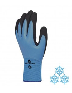 FIPCENTER-Gant hiver main latex - paume mousse (x5 paires)-THRYM VV736