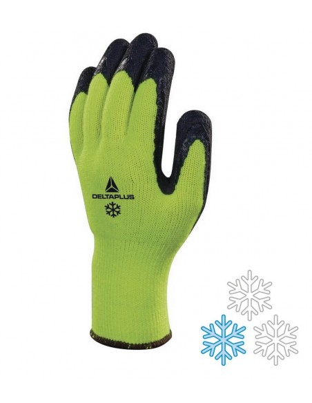 FIPCENTER-Gant froid tricot acrylique - enduits (x10 paires)-APOLLON WINTER VV735