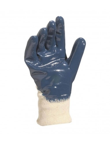 FIPCENTER-Gant enduction nitrile bleue support coton jersey dos aéré - DELTA PLUS NI150-NI150