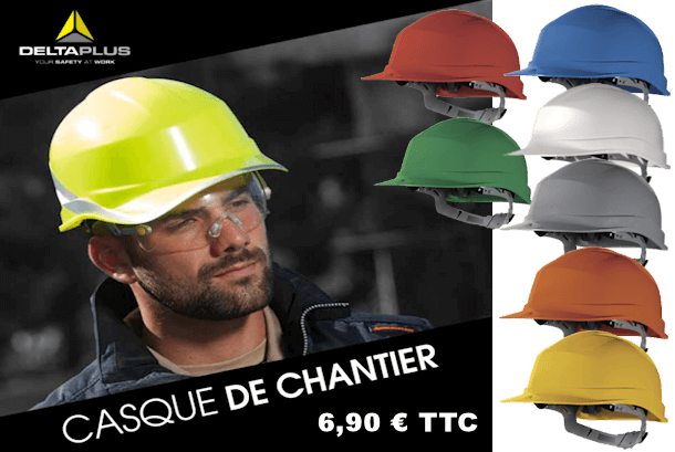 Casque de chantier Delta Plus