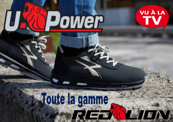 Baskets sécurité UPOWER Redlion